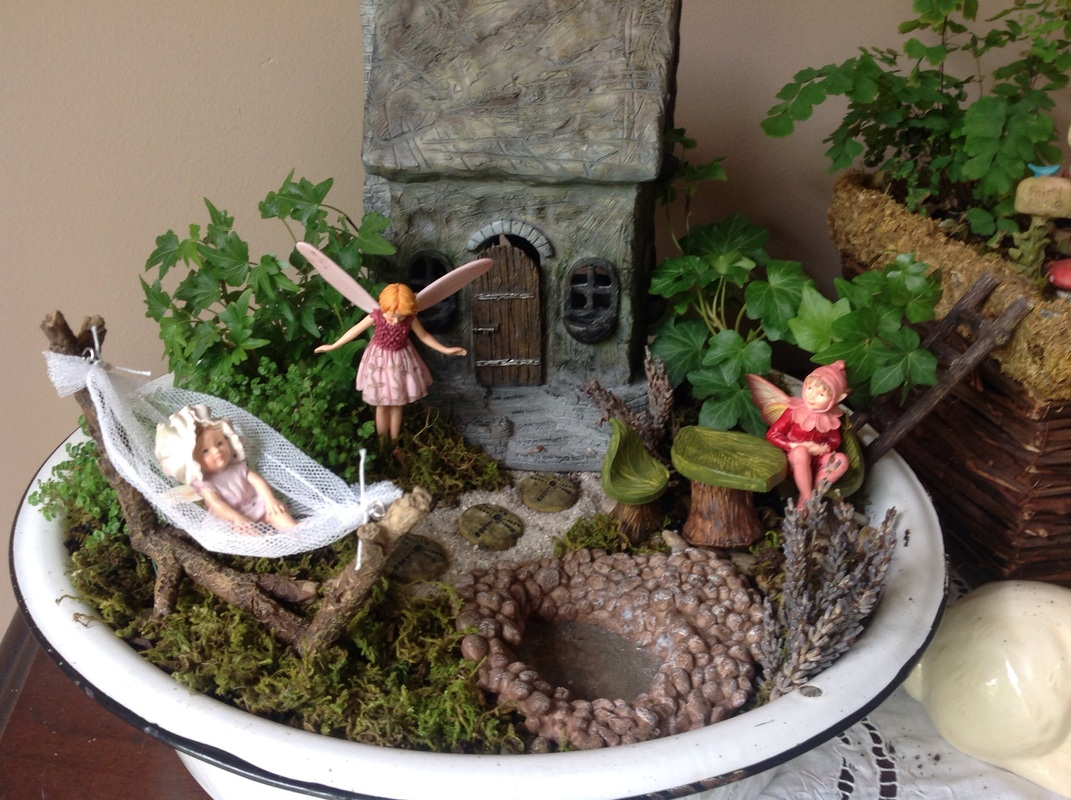 What is a Fairy Garden Little Fairy Garden Little Fairy Garden