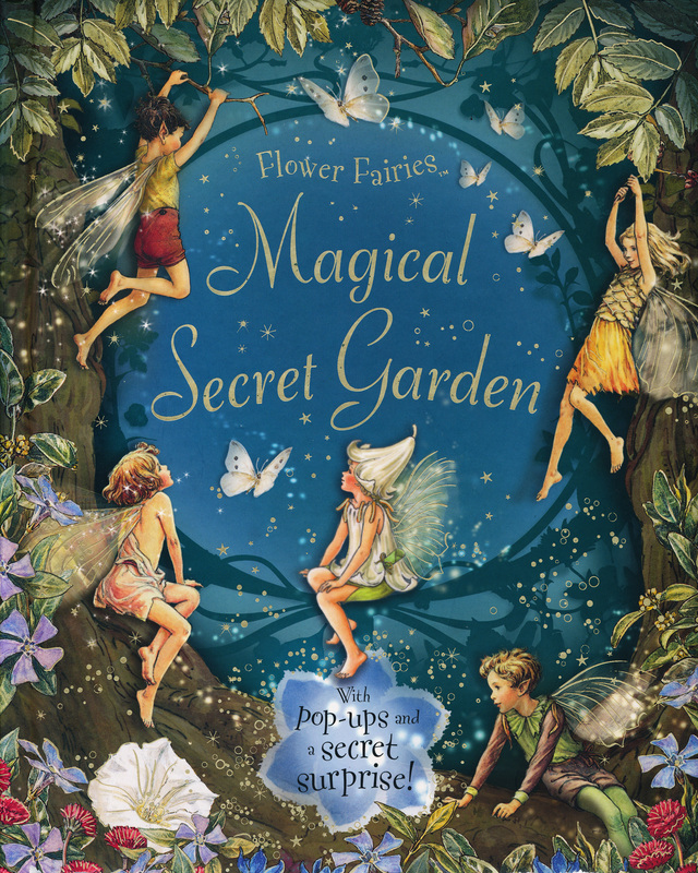 Merveilleux Picture. Flower Fairies Magical Secret Garden ...